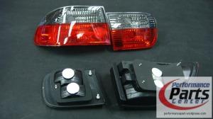NN Chrstal Tail Lamp - Honda EG 4 Doors
