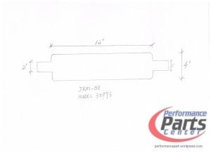 JASMA, Universal N1 Muffler Designs - Model 30893