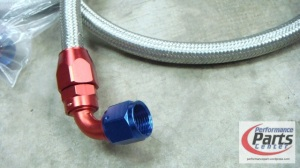 NN, Braided Hose with Fitting - Universal